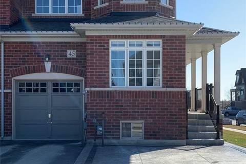 Townhouse for sale at 45 Velia Ct Vaughan Ontario - MLS: N4736689
