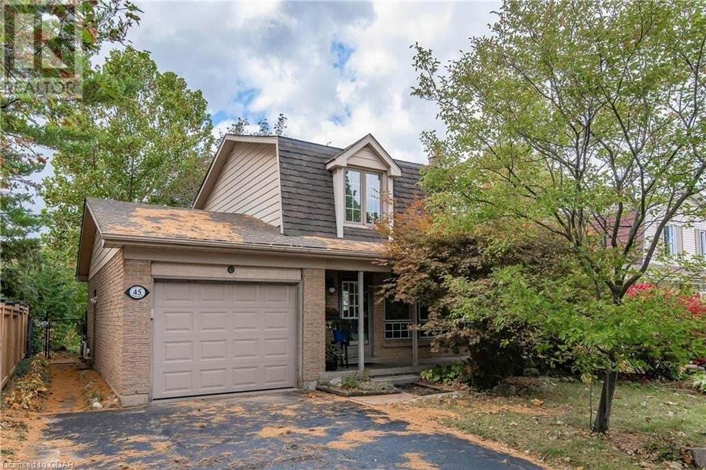 House for sale at 45 Vintage Cres Kitchener Ontario - MLS: 40023038