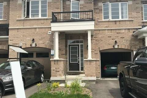 Townhouse for sale at 45 Webb St Bradford West Gwillimbury Ontario - MLS: N4447506