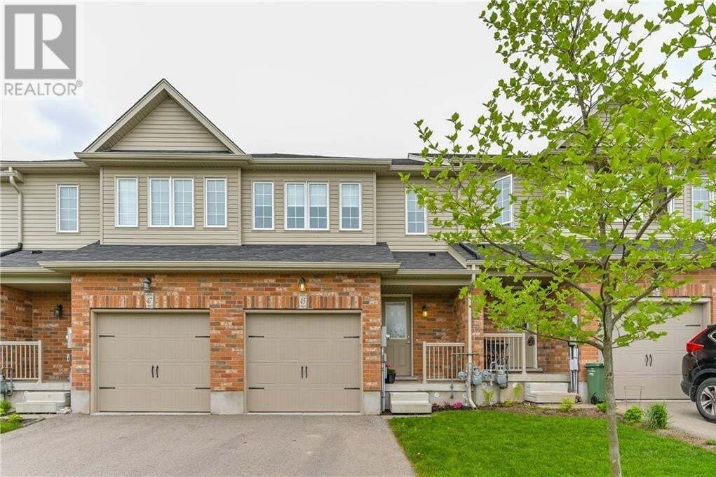 Townhouse for sale at 45 Wideman Blvd Guelph Ontario - MLS: 30809176