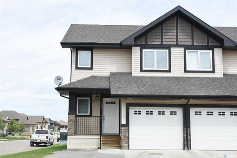 Townhouse for sale at 4502 Green Poplar Ln E Regina Saskatchewan - MLS: SK782366