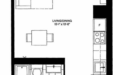 Apartment for rent at 42 Charles St Unit 4507 Toronto Ontario - MLS: C4552749