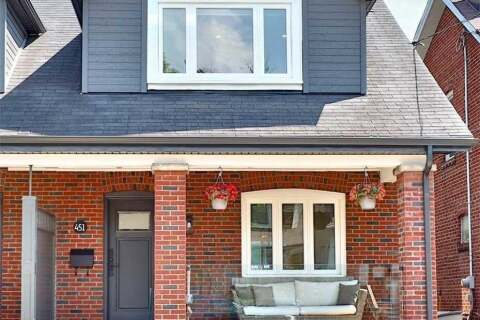 Townhouse for sale at 451 Hillsdale Ave Toronto Ontario - MLS: C4822312