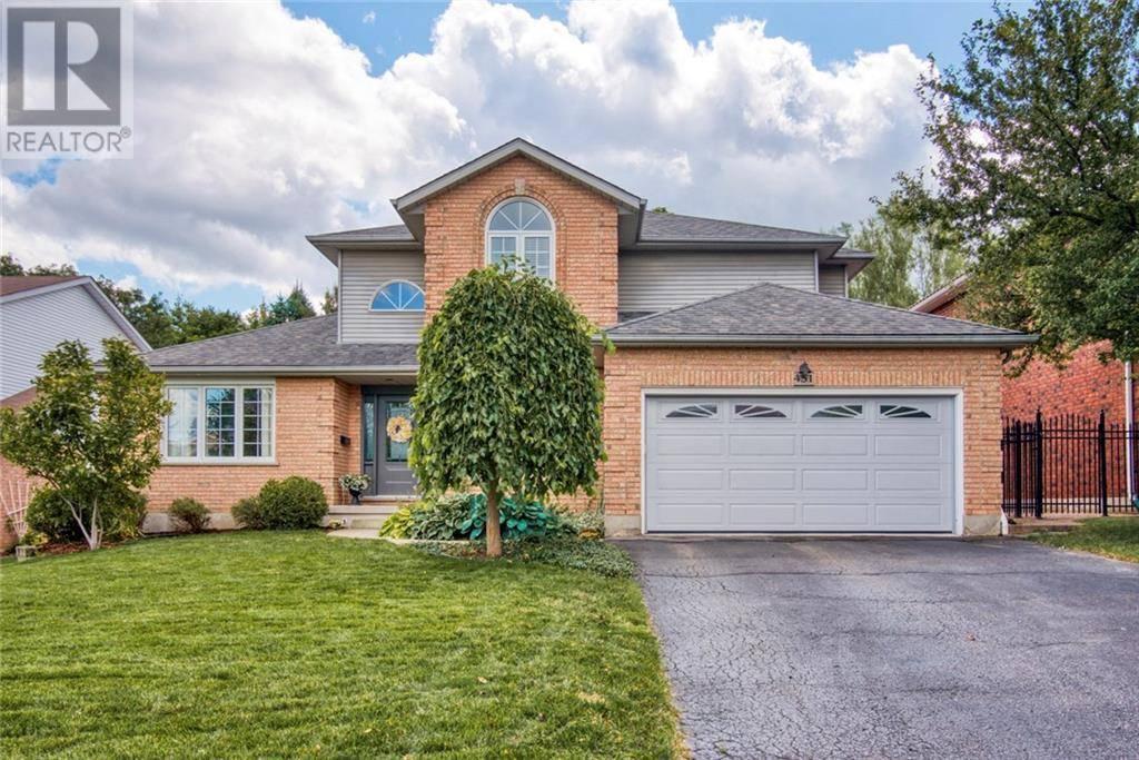 House for sale at 451 Knightsbridge Ct Waterloo Ontario - MLS: 30754753