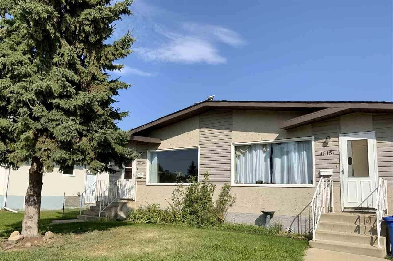 Townhouse for sale at 4515 53 St Wetaskiwin Alberta - MLS: E4213301