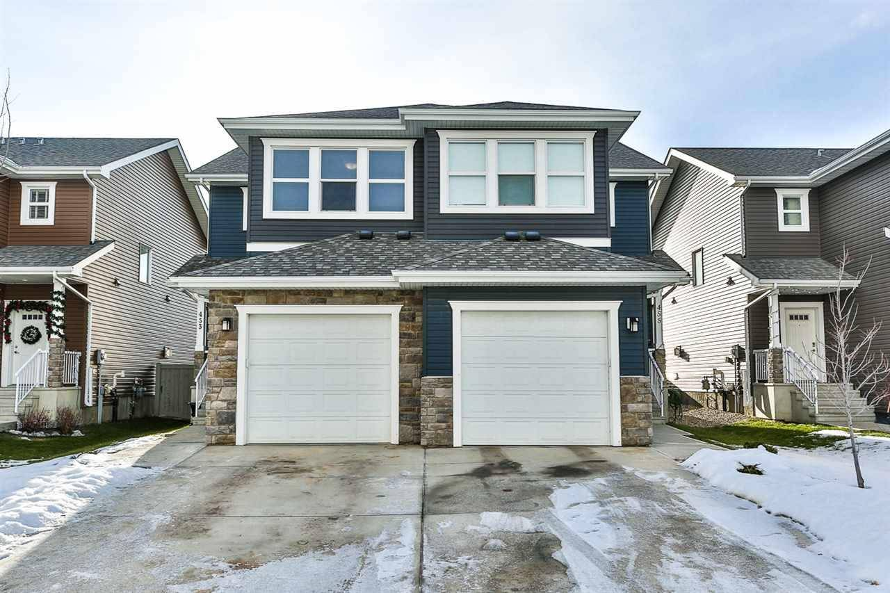 Townhouse for sale at 453 Reed Cres Leduc Alberta - MLS: E4180732