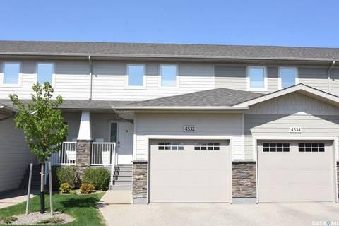 Townhouse for sale at 4532 Harbour Village Wy Regina Saskatchewan - MLS: SK773941