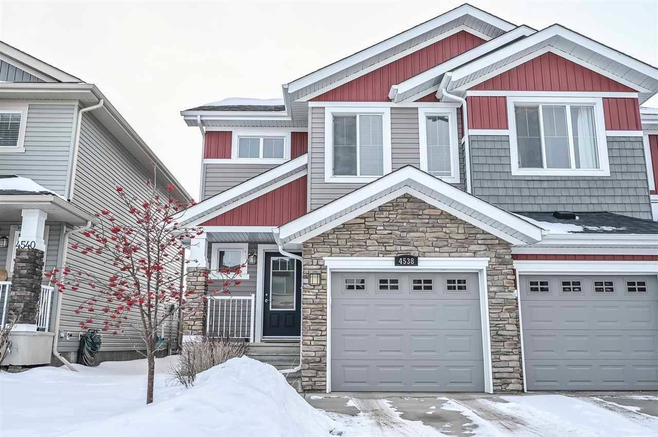 Townhouse for sale at 4538 Alwood Wy Sw Edmonton Alberta - MLS: E4193342