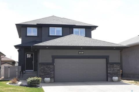 House for sale at 4538 Hames Cres Regina Saskatchewan - MLS: SK772023