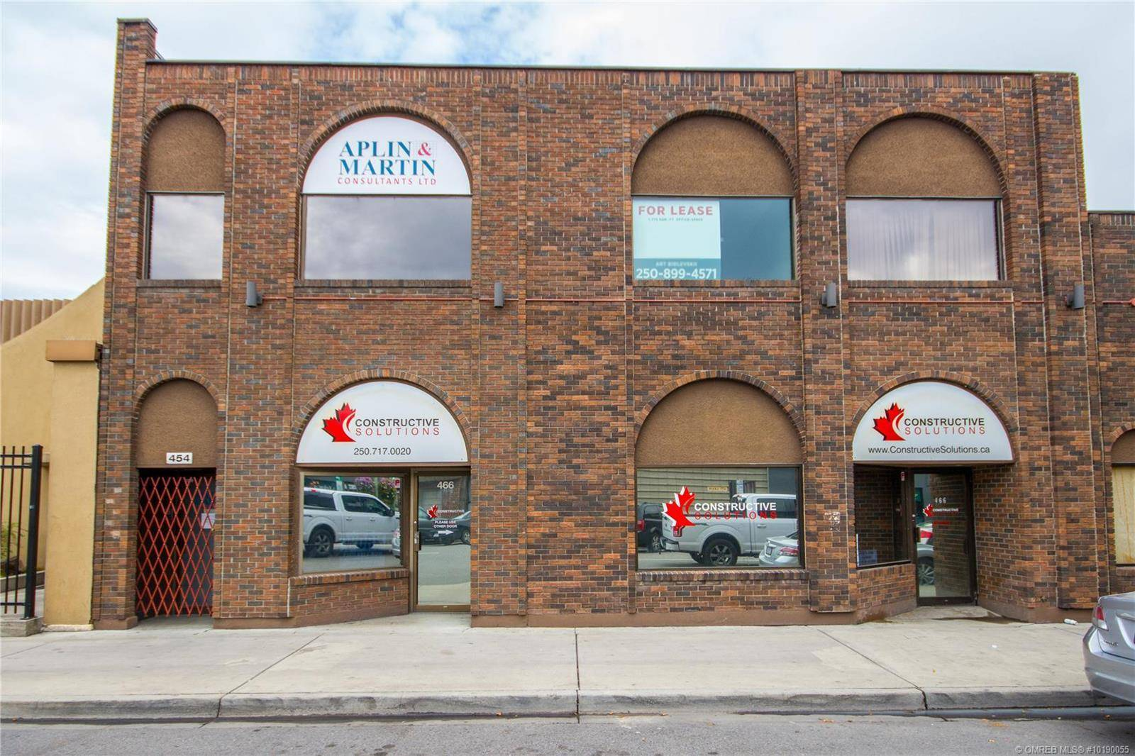 Commercial property for lease at 454 Leon Ave Kelowna British Columbia - MLS: 10190055