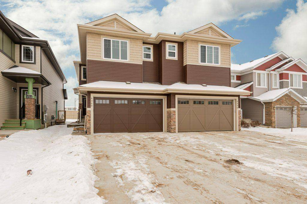 Townhouse for sale at 4560 Alwood Wy Sw Edmonton Alberta - MLS: E4183233