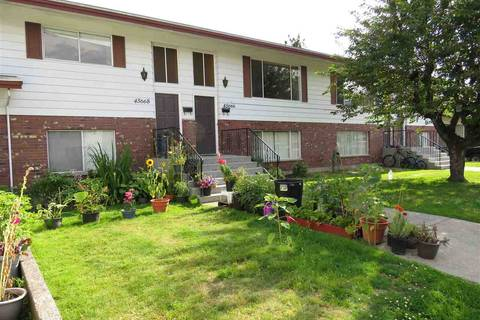 Townhouse for sale at 45664 Fernway Ave Chilliwack British Columbia - MLS: R2389332
