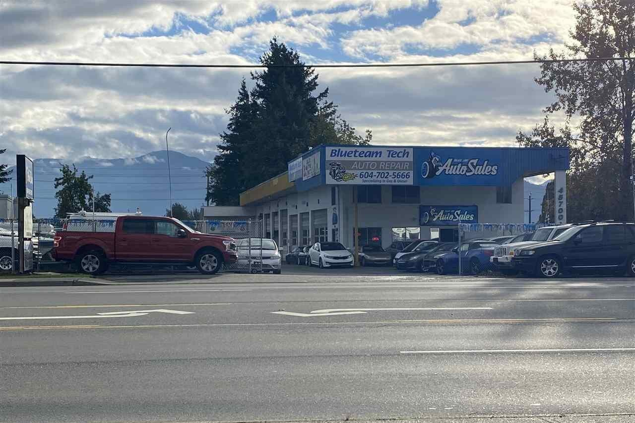 Commercial property for sale at 45710 Yale Rd Chilliwack British Columbia - MLS: C8034813