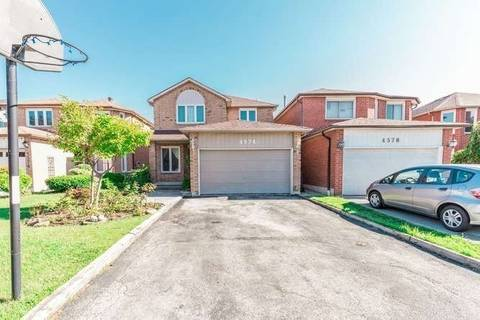 House for sale at 4574 Pemmican Tr Mississauga Ontario - MLS: W4638589