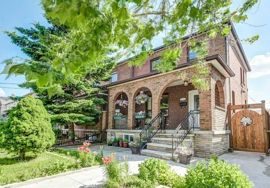 Townhouse for sale at 458 Maybank Ave Toronto Ontario - MLS: W4498216