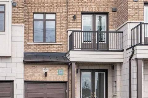 Townhouse for sale at 459 Elyse Ct Aurora Ontario - MLS: N4387000