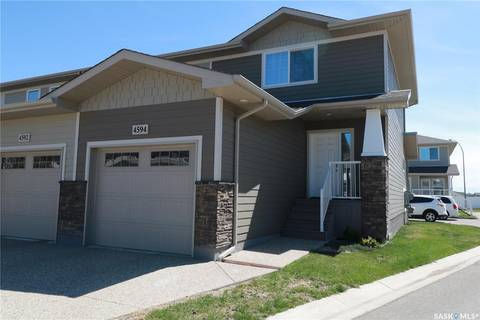 Townhouse for sale at 4594 Harbour Village Wy Regina Saskatchewan - MLS: SK772239