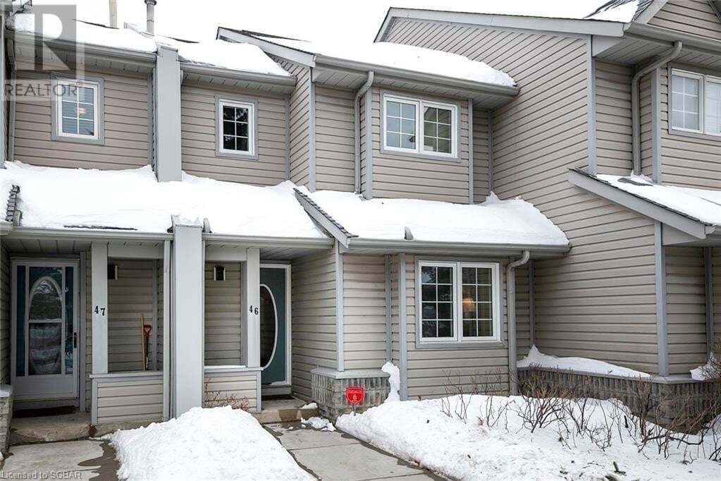 Townhouse for sale at 162 Settlers Wy Unit 46 The Blue Mountains Ontario - MLS: 241667