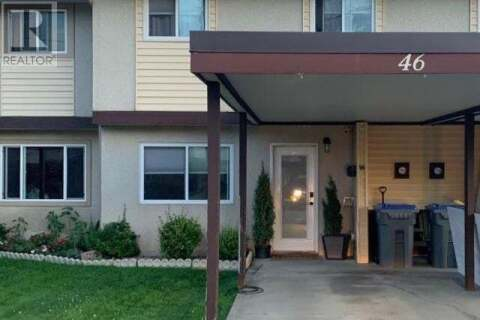 Townhouse for sale at 1697 Greenfield Ave  Unit 46 Kamloops British Columbia - MLS: 157950