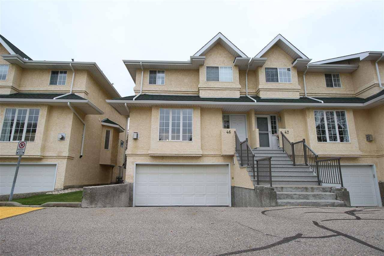 Townhouse for sale at 2419 133 Ave Nw Unit 46 Edmonton Alberta - MLS: E4176913