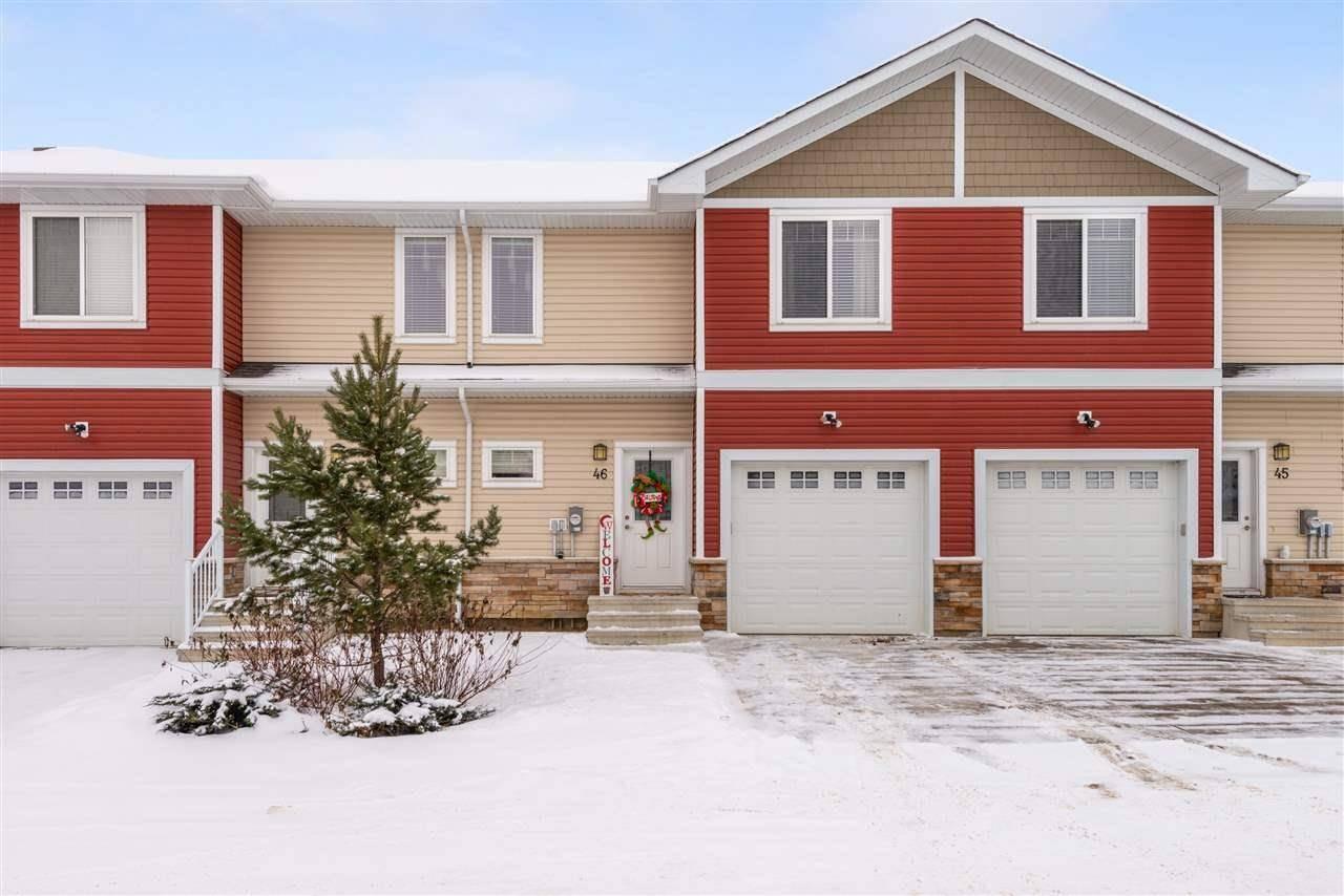 Townhouse for sale at 450 Mcconachie Wy Nw Unit 46 Edmonton Alberta - MLS: E4179156