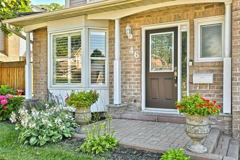 Condo for sale at 5255 Lakeshore Rd Unit 46 Burlington Ontario - MLS: W4549634