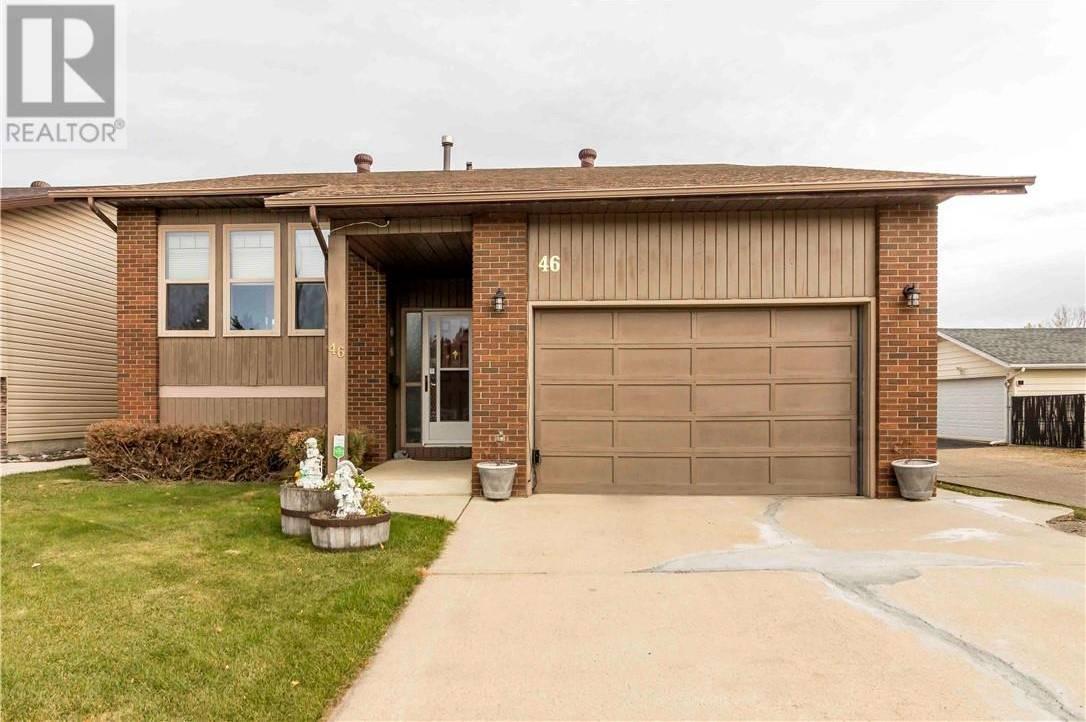 House for sale at 66 Street Cs Unit 46 Red Deer Alberta - MLS: ca0180493