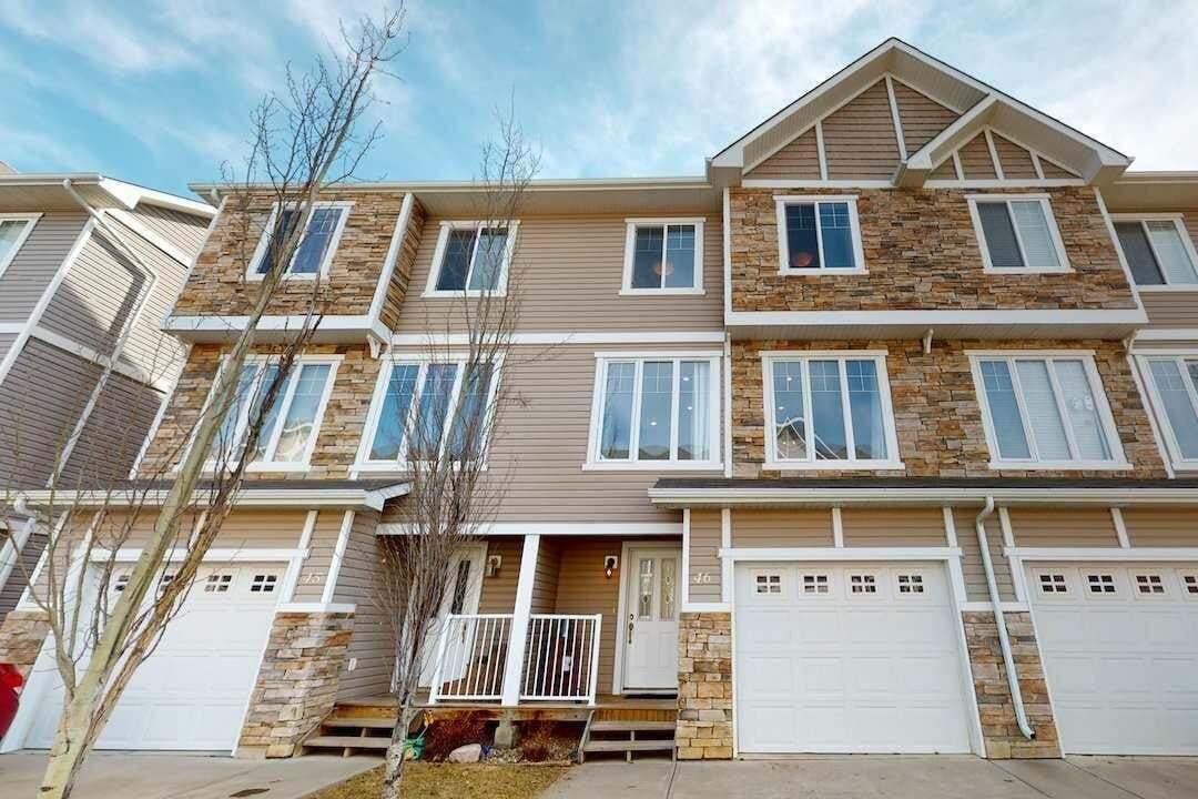 Townhouse for sale at 9904 101 Av Unit 46 Morinville Alberta - MLS: E4191975