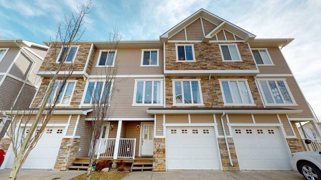 Townhouse for sale at 9904 101 Ave Unit 46 Morinville Alberta - MLS: E4191975