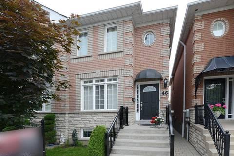 Townhouse for sale at 46 Alentejo St Toronto Ontario - MLS: W4494824