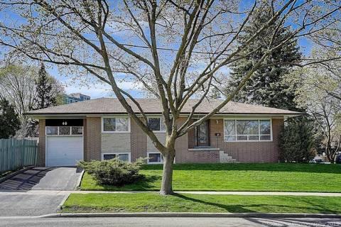 House for rent at 46 Bernadine St Toronto Ontario - MLS: E4517639