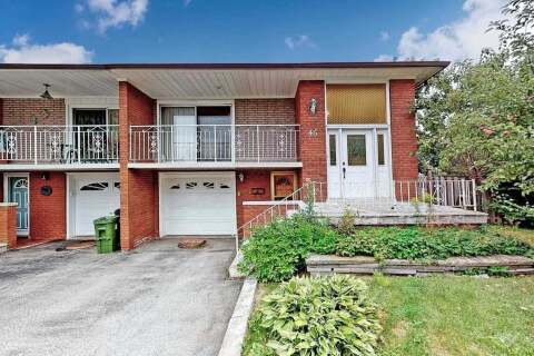 Townhouse for sale at 46 Bowhill Cres Toronto Ontario - MLS: C4871987