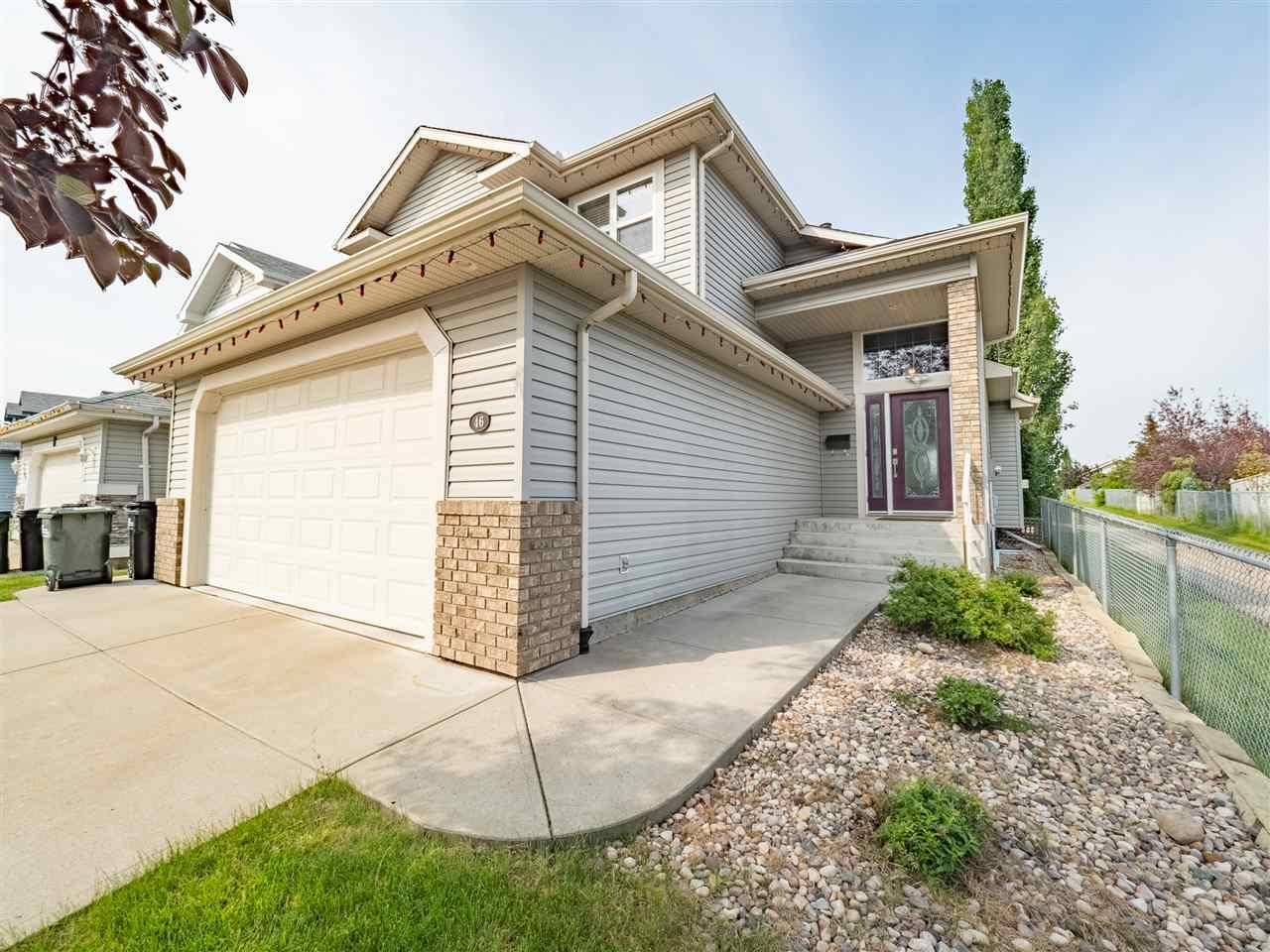 House for sale at 46 Crocus Wy Sherwood Park Alberta - MLS: E4164570