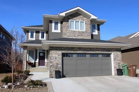 House for sale at 46 Edgewater Te N St. Albert Alberta - MLS: E4149359