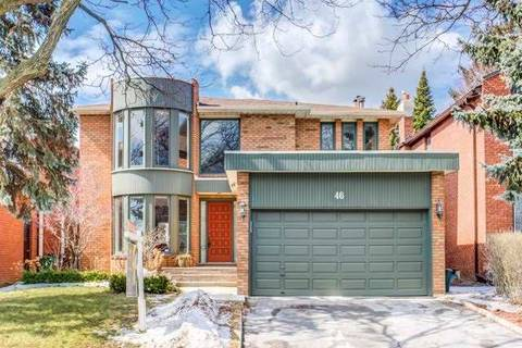 House for sale at 46 Eunice Rd Toronto Ontario - MLS: C4388196