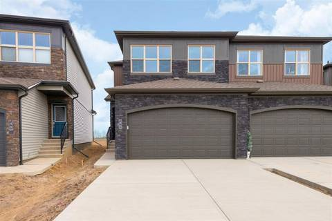 Townhouse for sale at 46 Gladstone Bend Spruce Grove Alberta - MLS: E4146327