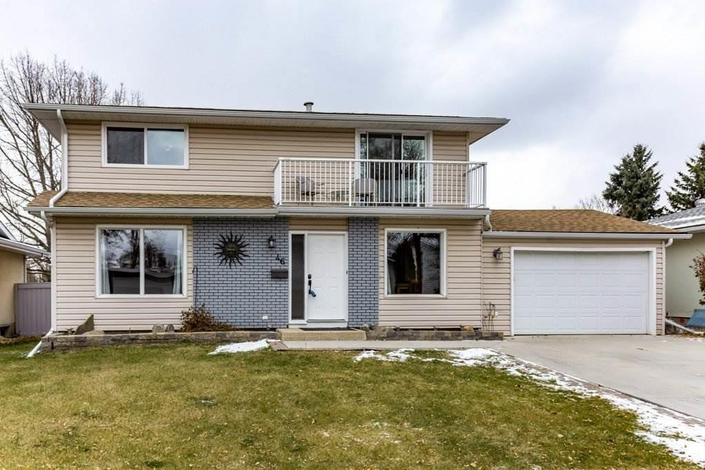 House for sale at 46 Greenbrier Cr St. Albert Alberta - MLS: E4218862