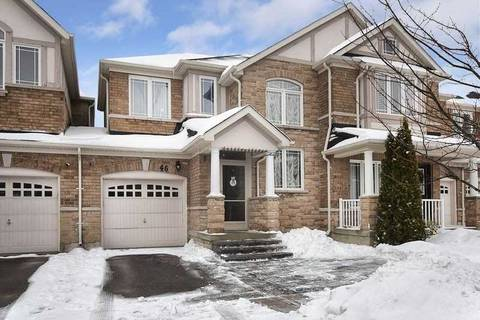 Townhouse for sale at 46 Hubner Dr Richmond Hill Ontario - MLS: N4696162