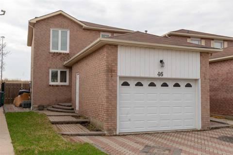 House for sale at 46 Kesteven Cres Brampton Ontario - MLS: W4437342