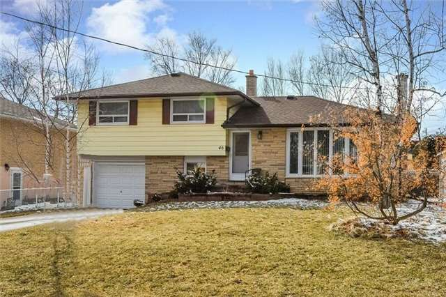 Sold: 46 Lewis Drive, Newmarket, ON