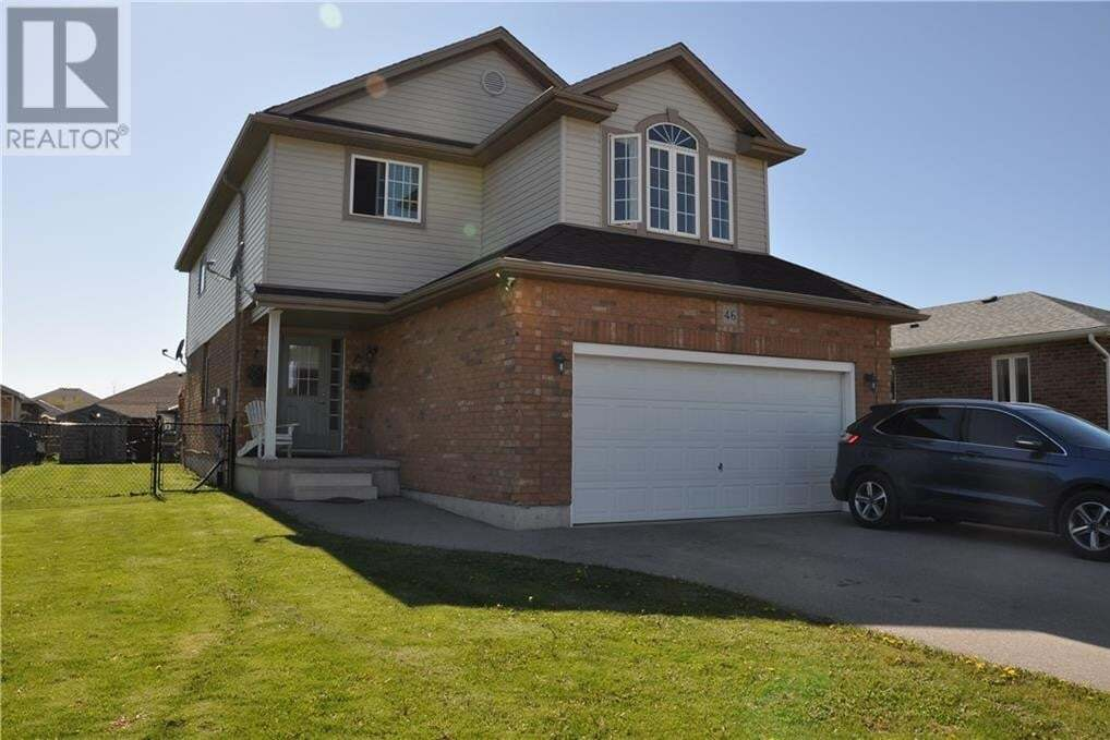 House for sale at 46 Millson Cres St. Marys Ontario - MLS: 30807921