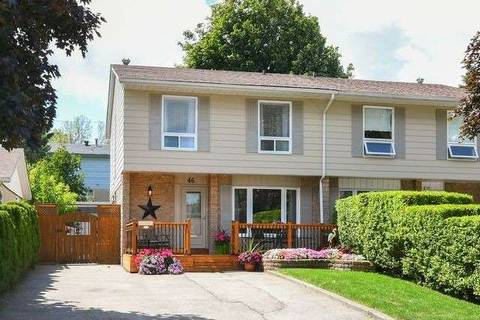 Townhouse for sale at 46 Ontario St Orangeville Ontario - MLS: W4546578