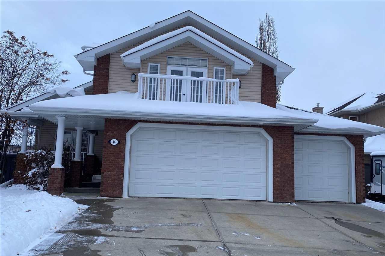 House for sale at 46 Otter Cr St. Albert Alberta - MLS: E4217603