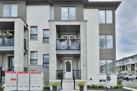 Townhouse for sale at 46 Pallock Hill Wy Whitby Ontario - MLS: E4829656