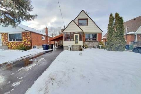 House for sale at 46 Portsdown Rd Toronto Ontario - MLS: E4692027