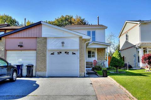Townhouse for sale at 46 Red River Cres Toronto Ontario - MLS: E4626021