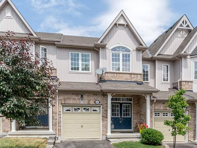 For Sale: 46 Sutcliff Lane, Halton Hills, ON | 3 Bed, 3 Bath Townhouse for $625,000. See 20 photos!
