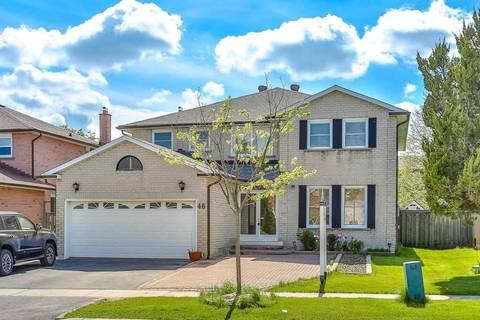 House for sale at 46 Teddington Ave Markham Ontario - MLS: N4498587