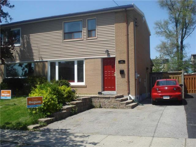 For Sale: 46 Willowmount Drive, Toronto, ON | 3 Bed, 2 Bath Townhouse for $699,900. See 9 photos!