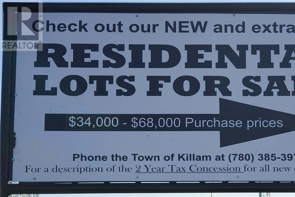 Residential property for sale at 4601 53 St Killam Alberta - MLS: ca0175457